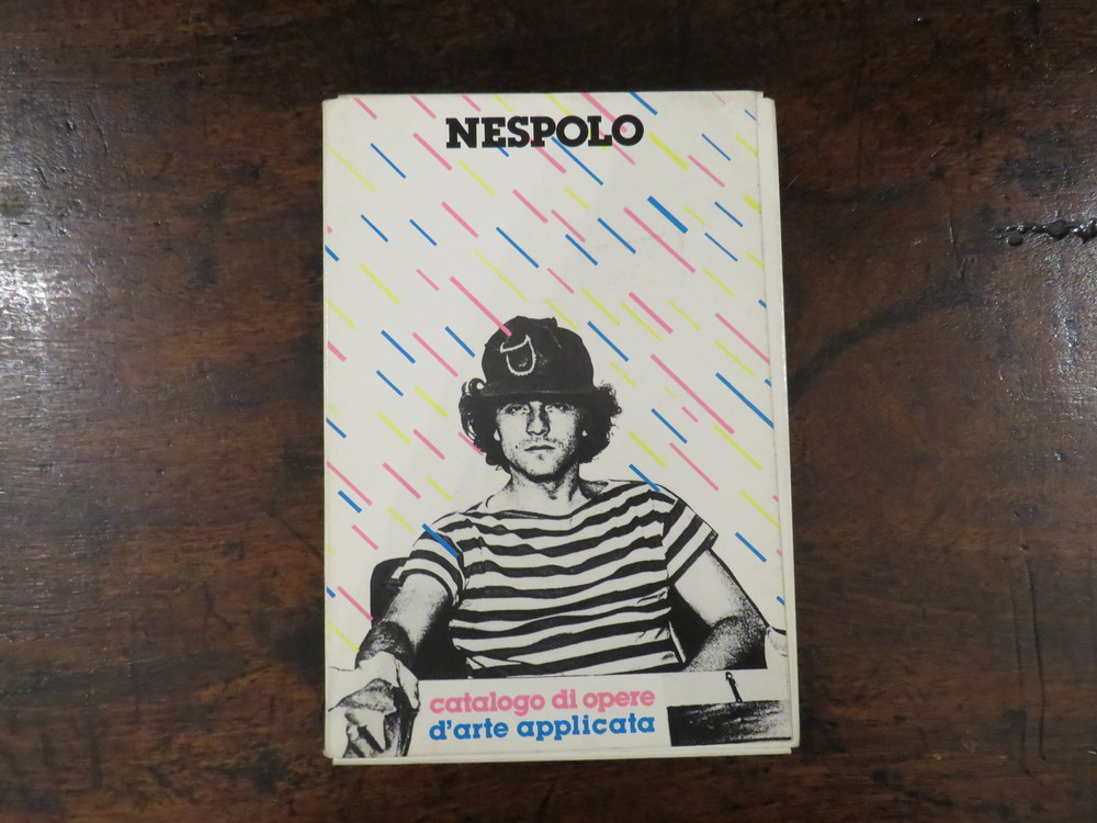 UGO NESPOLO. Catalogo di opere d'arte applicata